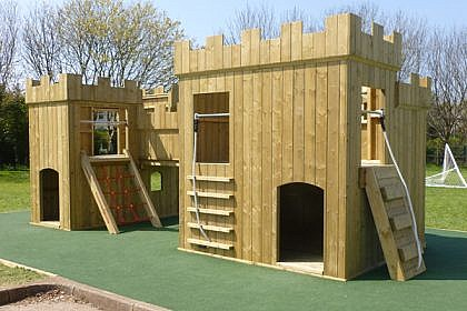 Large Playground Fort