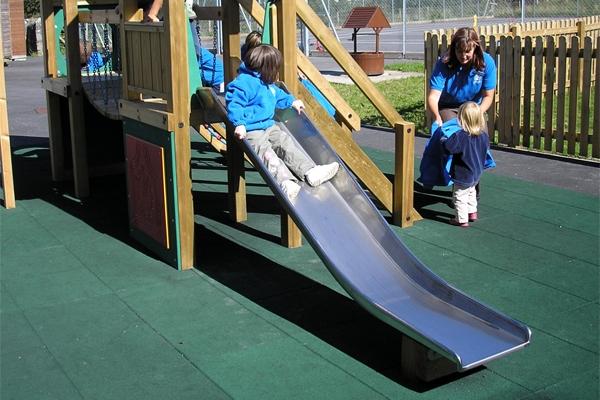 0.9m Stainless Steel Slide