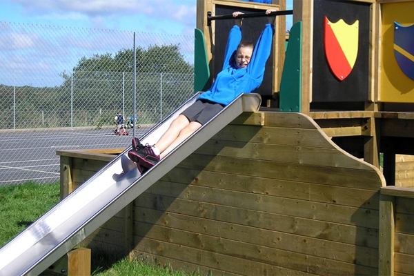 1.5m Stainless Steel Slide
