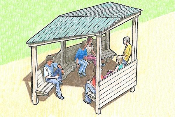 5 Sided Shelter