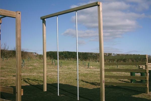 Double Climbing Pole