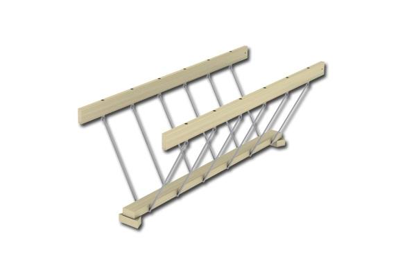 Plank Bridge with Chain