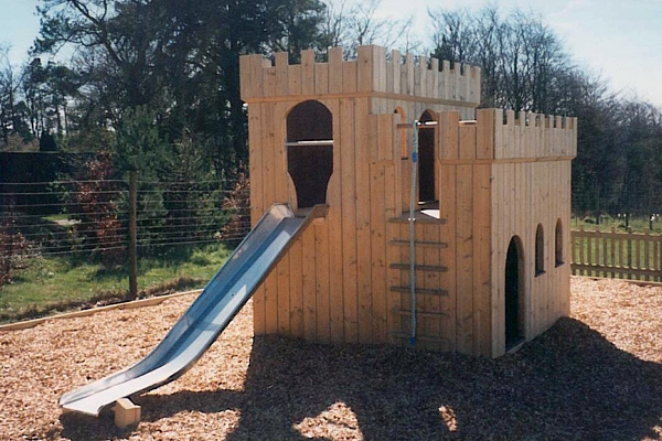 Small Fort with Slide