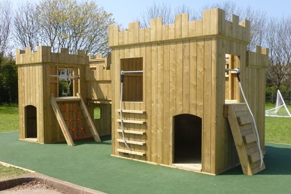 Large Playground Fort