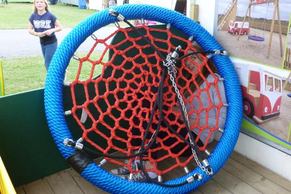 Birds Nest Basket, Swing