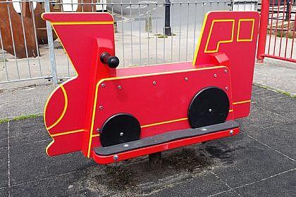 Toby Train Rocker