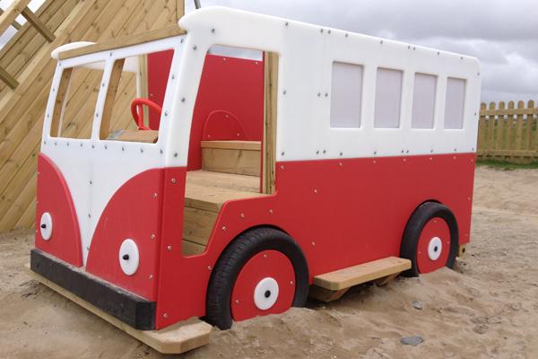 Veedub Camper Van Slide