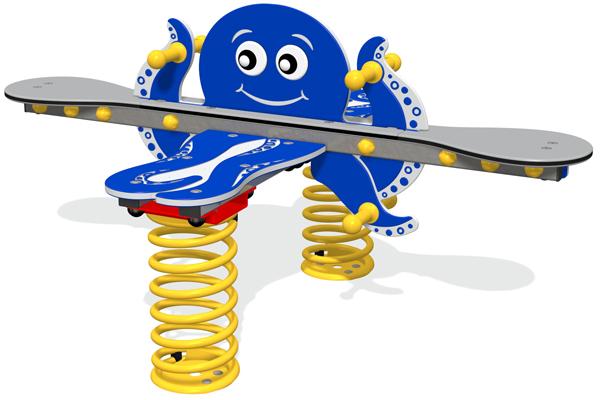Octopus Seesaw Springer