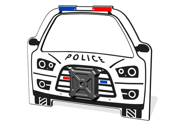 Police Car Play Panel