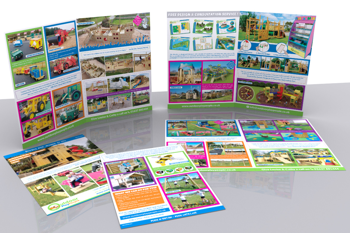 Farm Park and Holiday Park Play Equipment Leaflet 2017