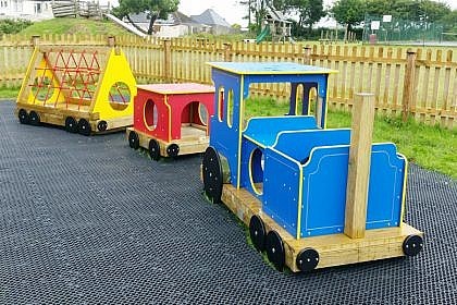 Eddy the Mini Engine, Train Play