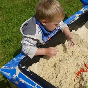 Sand and Water Sensory Play
