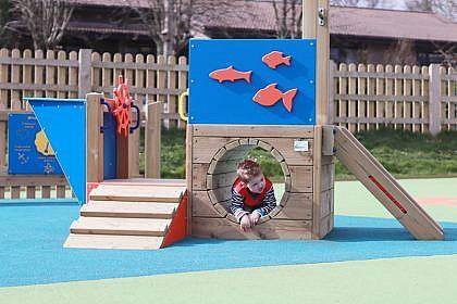 Trenance Trawler Playground Boat