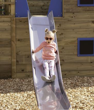 Stainless Steel Playground Slides