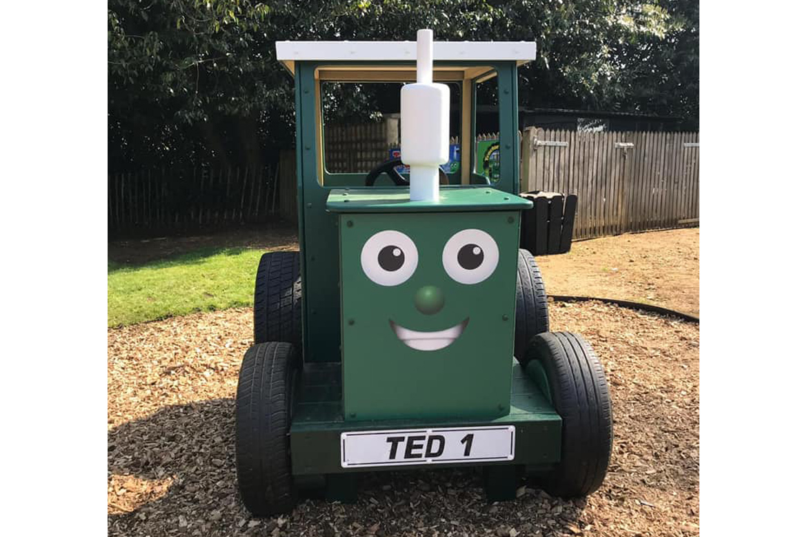 Tractor Ted for Playgrounds