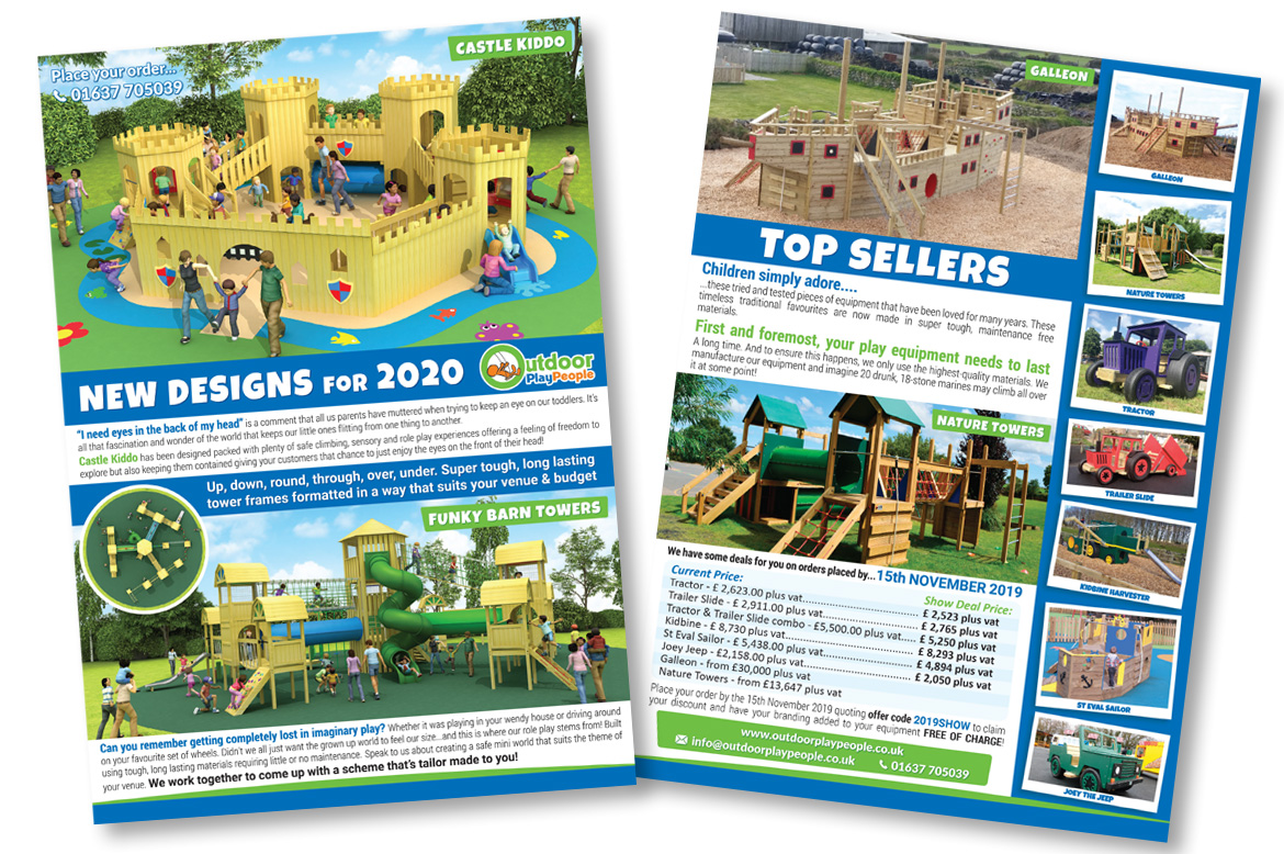 Holiday PArks Play Equipment Winter 2019