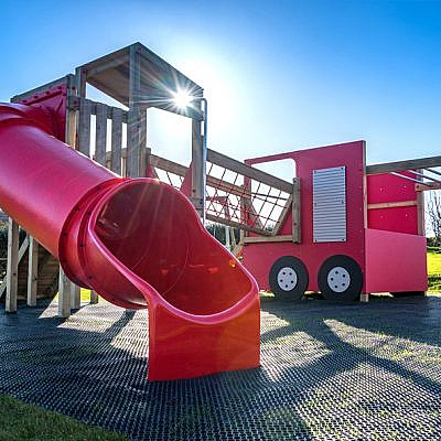 Fire Engine Themed Play Area