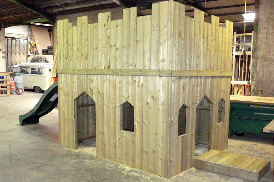 Domestic Play Castle