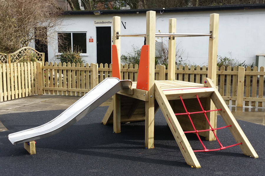 Slide and Climbing Tower