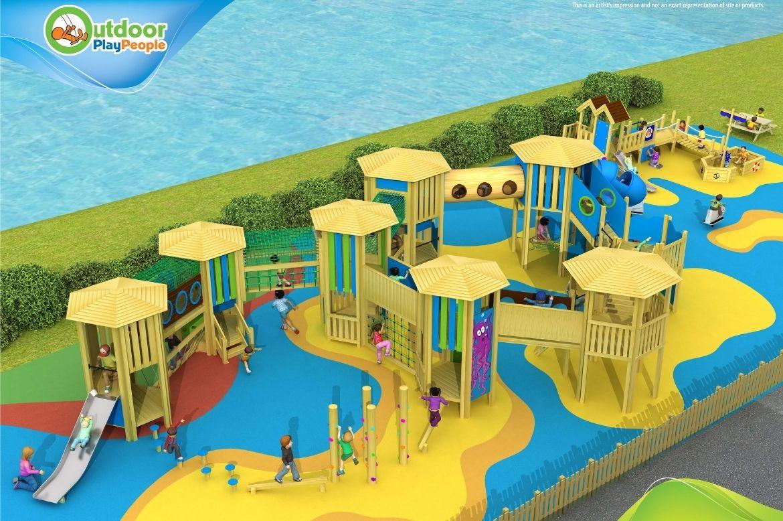 Bespoke Play Area - maritime themed