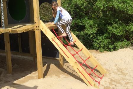 Playground Tower Climbing Net