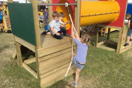 Play Towers Vertical Climbing Ramp