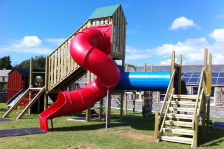 Spiral Tube Slide