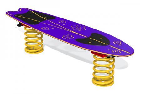 Surfboard Flower Plank Springer